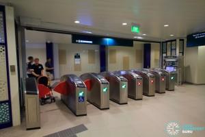 Bukit Panjang LRT Station - Exit C (Faregates and GTM)