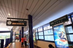 Bukit Panjang LRT Station - BPLRT Platform 2