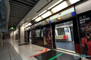 Promenade MRT Station - CCL Platform A (B4)