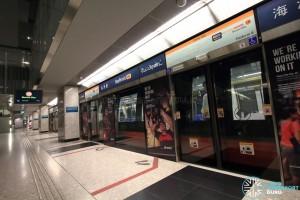 Bayfront MRT Station - Platform B (CCL)