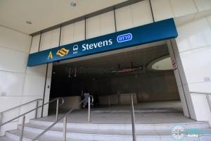 Stevens MRT Station - Exit A