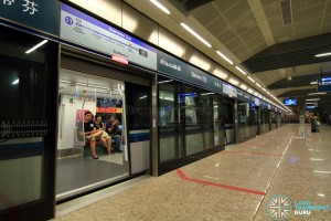 Stevens MRT Station - DTL Platform A (B3)