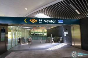 Newton MRT Station - Exit C