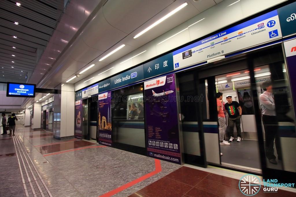 Little India MRT Station - DTL Platform B