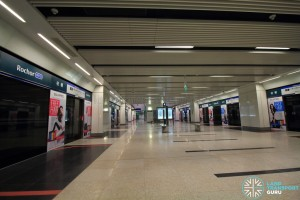 Rochor MRT Station - Platform level