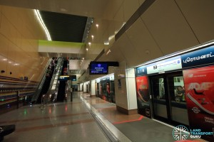 Promenade MRT Station - DTL Upper Platform level (B6)