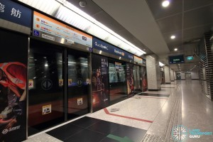 Bayfront MRT Station - Platform D (CCL)