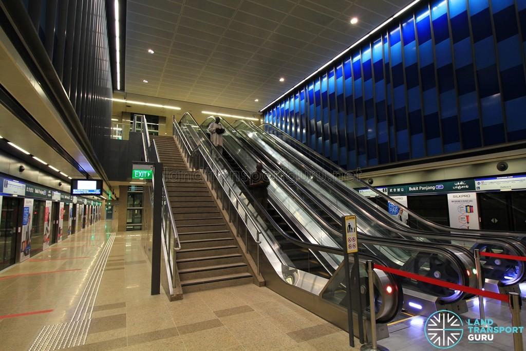 Bukit Panjang MRT Station - DTL Platform level