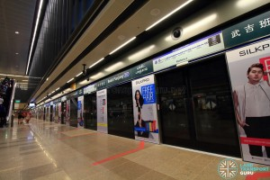 Bukit Panjang MRT Station - DTL Platform A