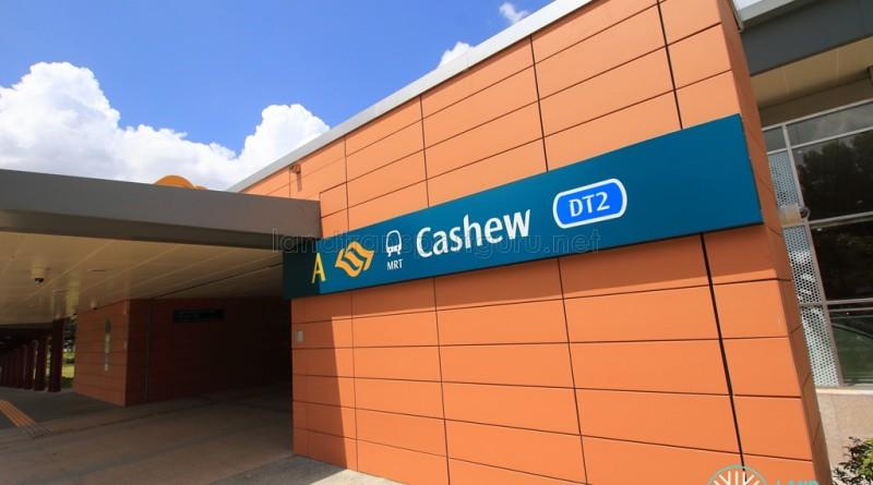 Cashew MRT Station - Exit B