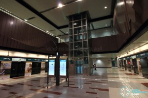 Hillview MRT Station - Platform level