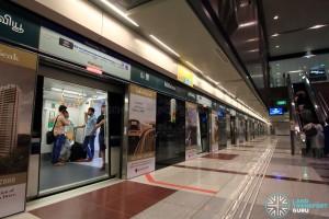 Hillview MRT Station - Platform B