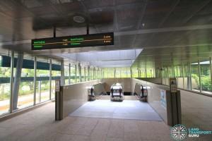 Botanic Gardens MRT Station - Exit B