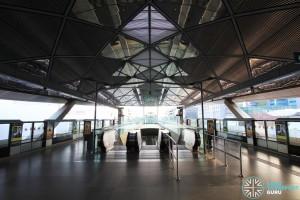 Expo MRT Station - Platform level