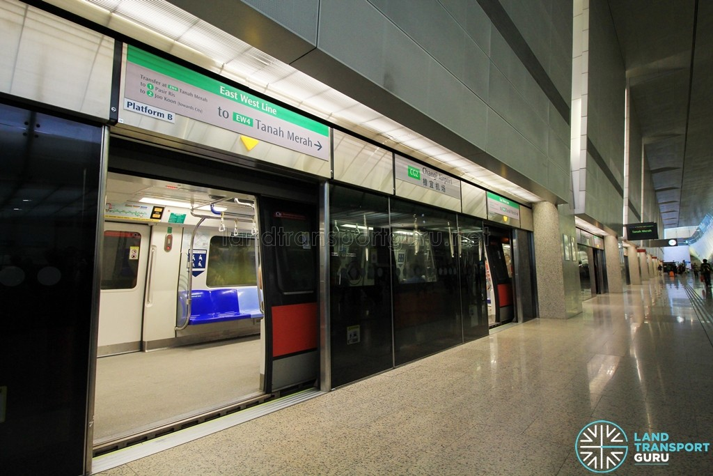 Changi Airport MRT Station - Platform B