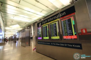Flight information displays