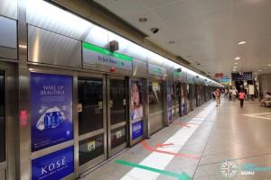 Bugis MRT Station - EWL Platform B