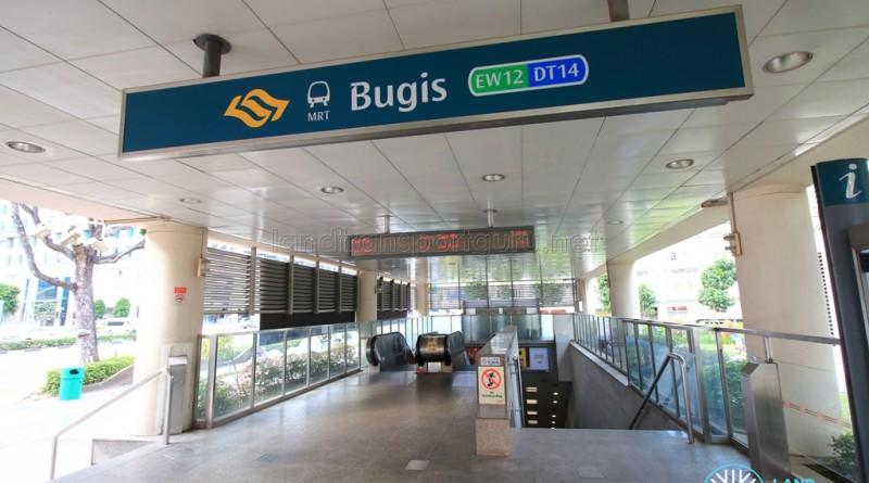 Bugis MRT Station - Exit A