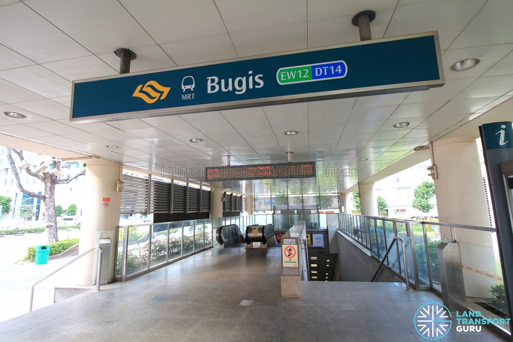 Bugis Mrt Station Land Transport Guru
