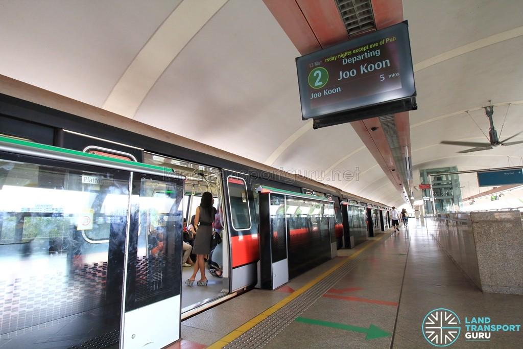 Pasir Ris MRT Station - Platform A