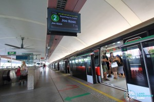Pasir Ris MRT Station - Platform B (towards Tuas Link)