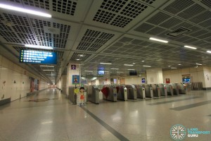 Little India MRT Station - Faregates