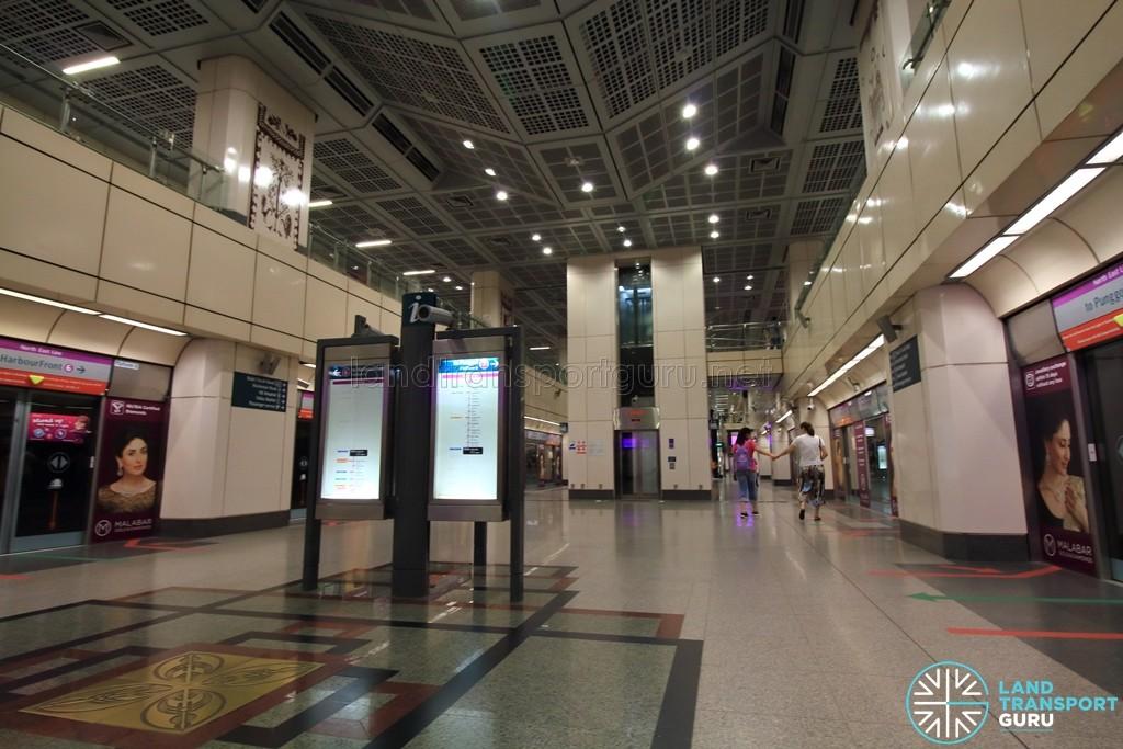 Little India MRT Station - NEL Platform level