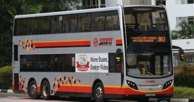 SMB3507X on 983 - SMRT Buses Alexander Dennis Enviro500