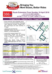Poster for Route Extension to Edgedale Plains End