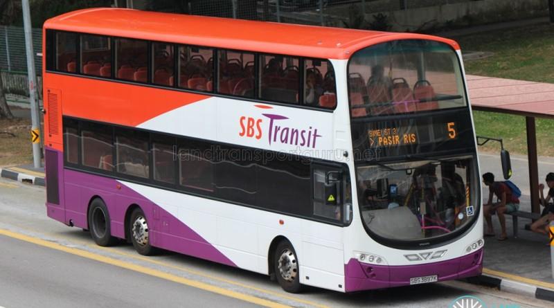 SBS Transit Bus Service 5