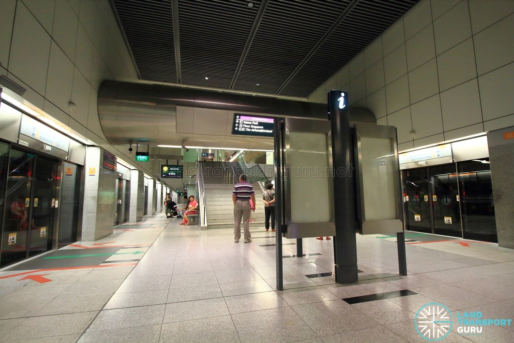 Dhoby Ghaut MRT Station - CCL Platform level