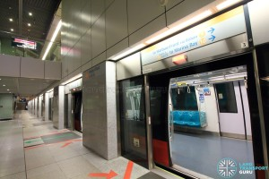 Dhoby Ghaut MRT Station - CCL Platform A