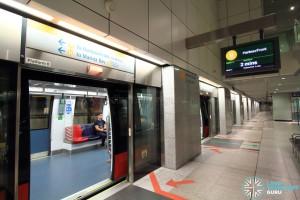 Dhoby Ghaut MRT Station - CCL Platform B