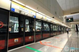 Bras Basah MRT Station - Platform B