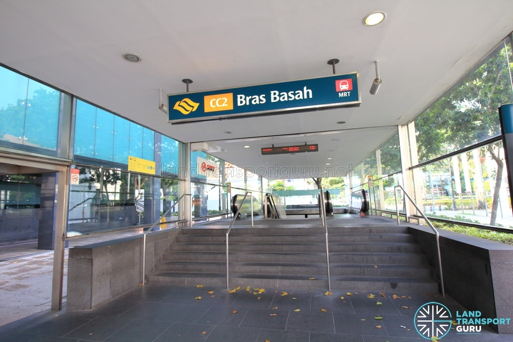 Bras Basah MRT Station - Exit A