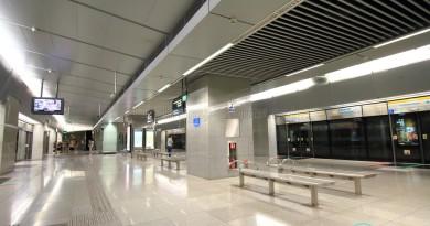 Esplanade MRT Station - Platform level