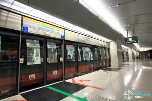 Esplanade MRT Station - Platform A