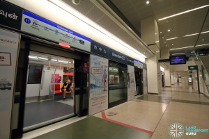 Downtown MRT Station - Platform A
