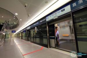 Telok Ayer MRT Station - Platform A
