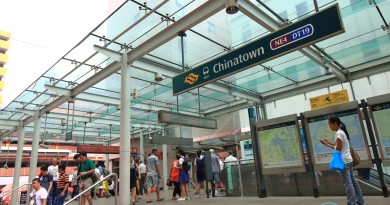 Chinatown MRT Station - Exit C