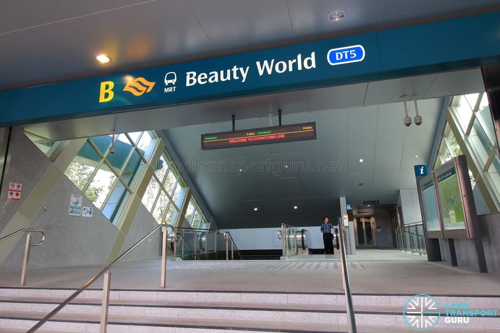 Beauty World MRT Station - Exit B