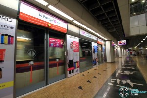 Chinatown MRT Station - NEL Platform B