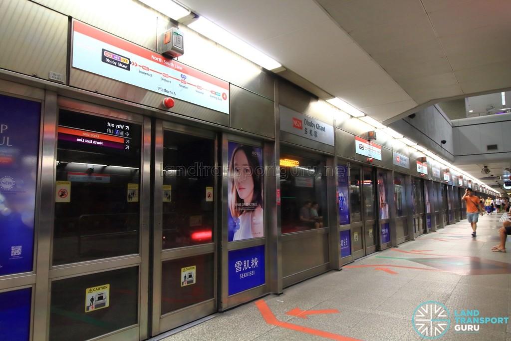 Dhoby Ghaut MRT Station - NSL Platform A