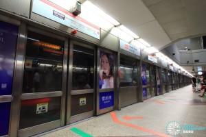 Dhoby Ghaut MRT Station - NSL Platform B