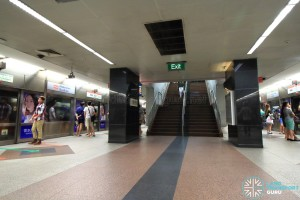 Dhoby Ghaut MRT Station - NSL Platform level
