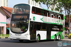 SG5003Y on 106 - Tower Transit Volvo B9TL