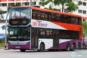 SBS Transit Scania K310UD (SBS7888K) - Service 168