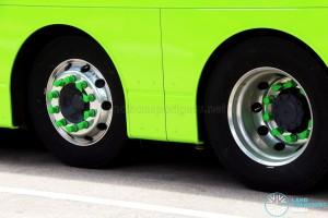 Loose wheel nut indicators