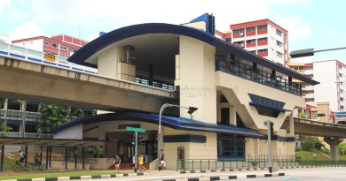 South View LRT Station - Exterior view