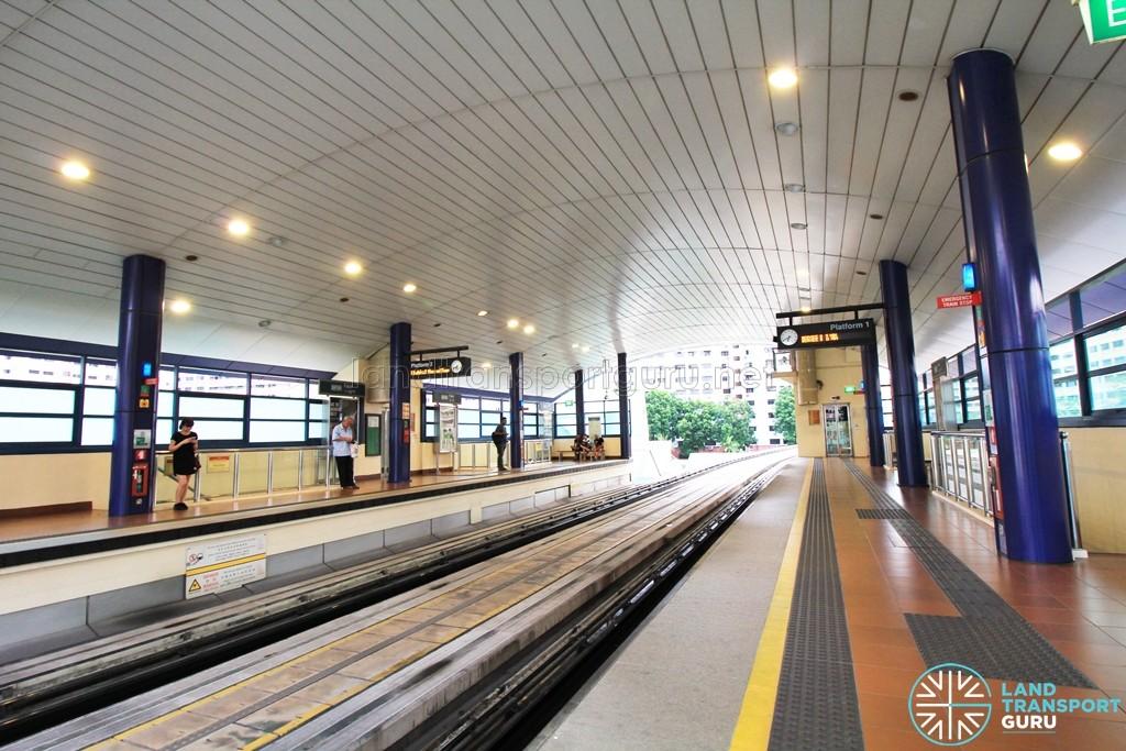 Fajar LRT Station - Platform level